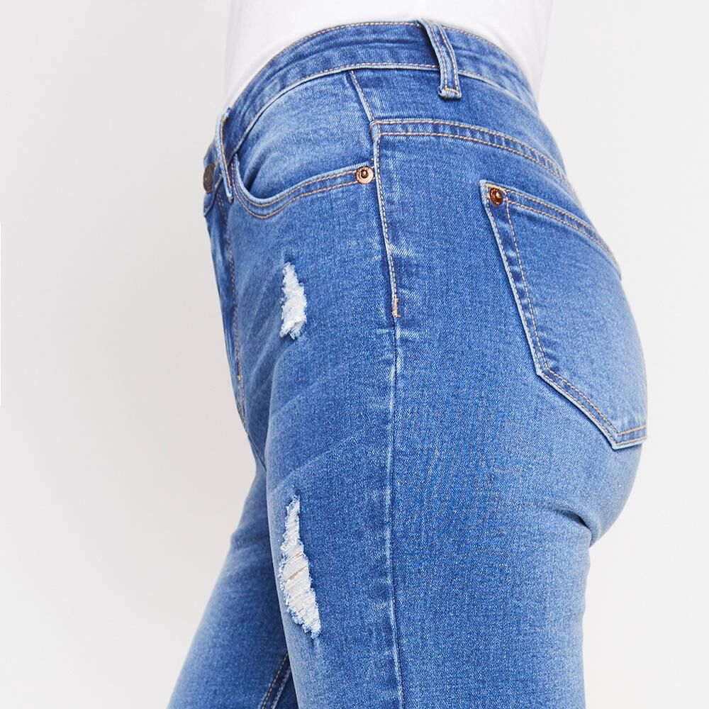 Jeans Mujer Tiro Alto Super Skinny Freedom image number 5.0