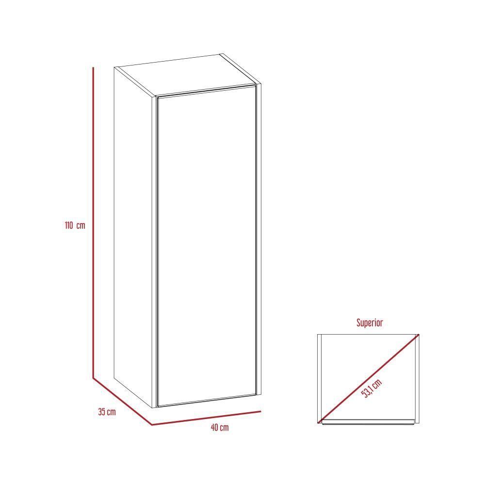Mueble De Baño Tuhome  Lice image number 6.0