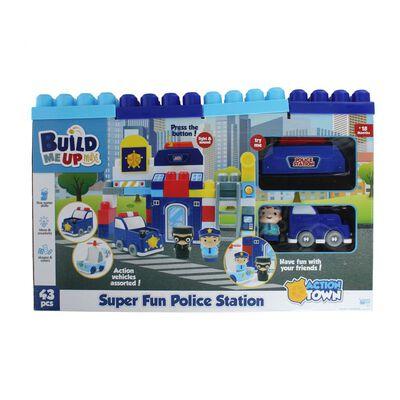 Bloques De Encaje Hitoys Super Fun Police Station
