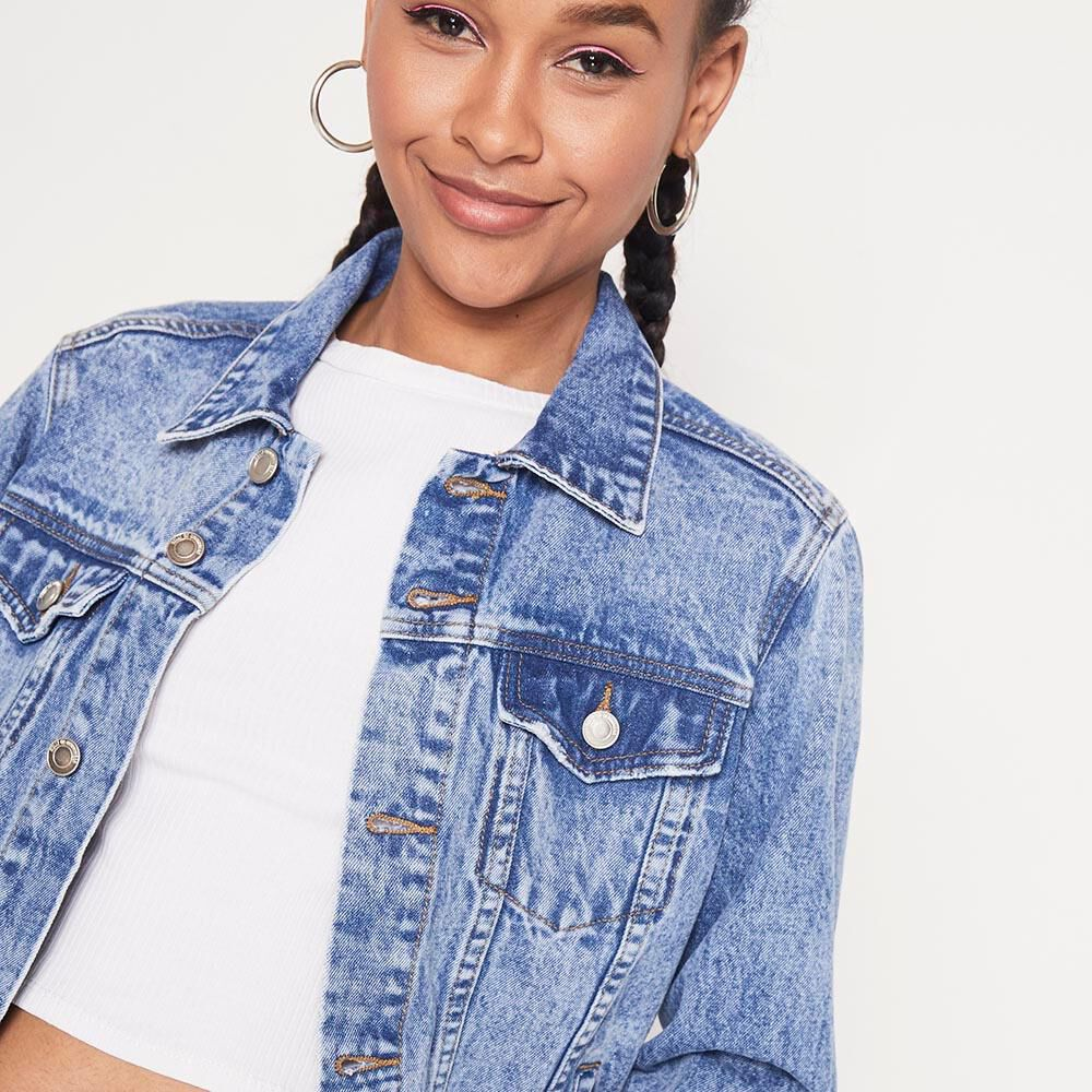 Chaqueta Denim   Mujer Rolly Go image number 3.0