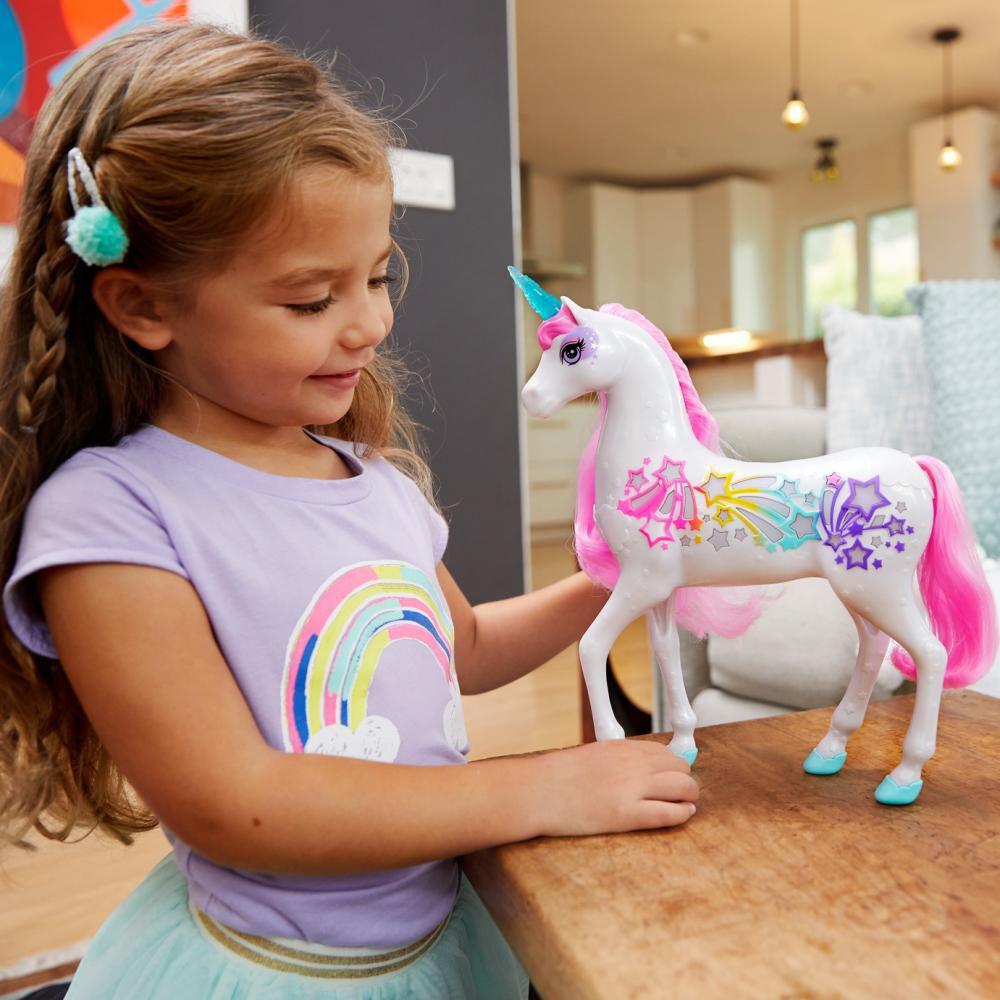 Barbie Dreamtopia Muñeca Unicornio Brillante image number 1.0