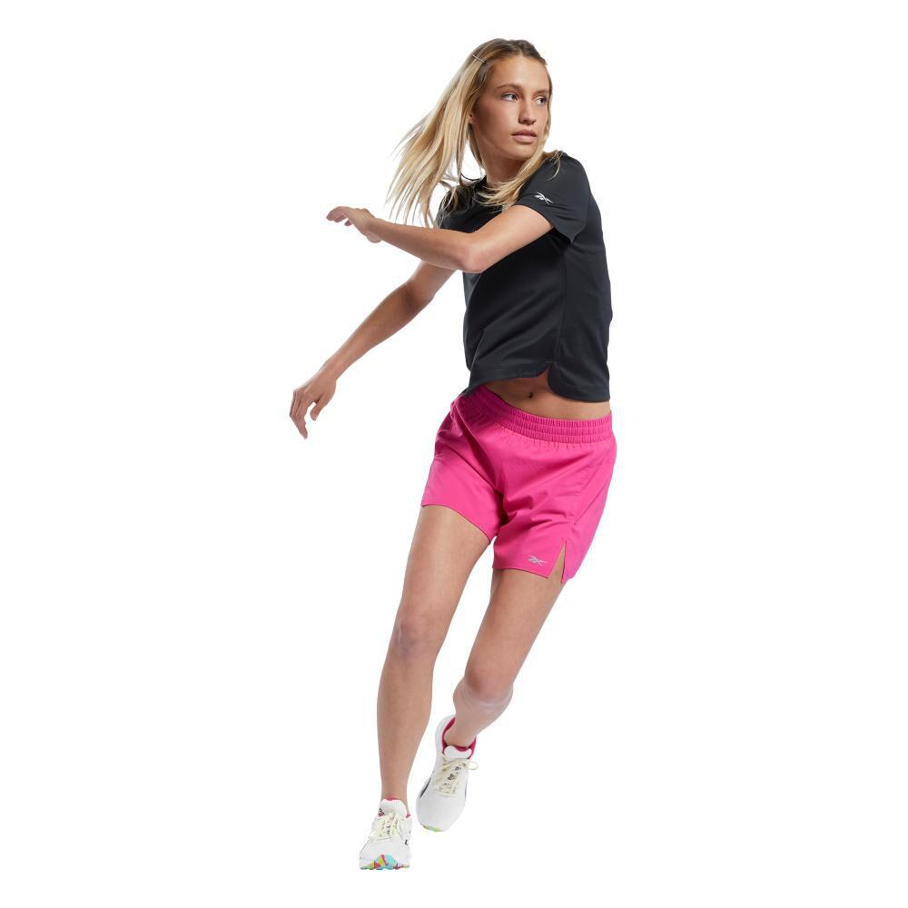 Polera Mujer Reebok Workout Ready Run Speedwick Graphic Tee image number 3.0