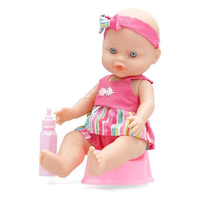 Muñeca Hitoys Hace Pipi Le Petit Bébé