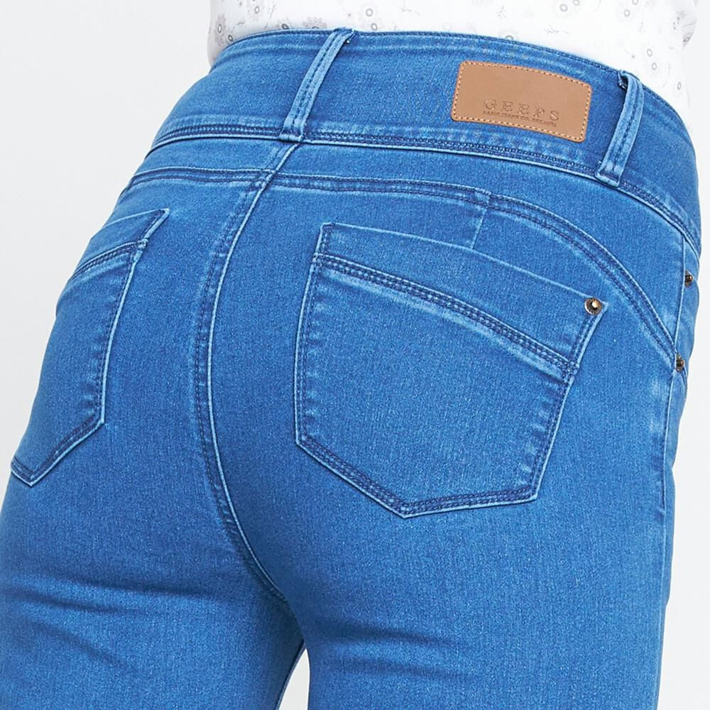 Jeans Mujer Geeps image number 5.0