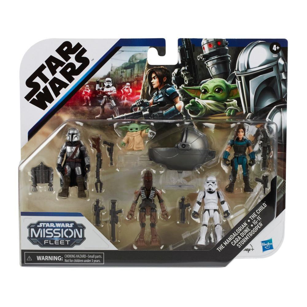 Figuras Star Wars The Mandalorian The Child Mission Fleet image number 1.0