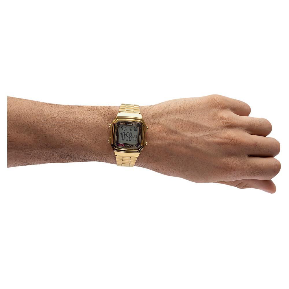 Reloj Casual Hombre Casio A178wga-1adf image number 3.0