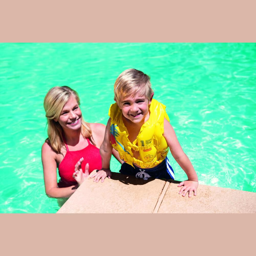 Chaleco Inflable Tropical Bestway 32069 image number 1.0