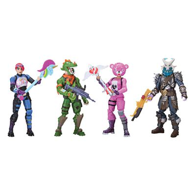 Figuras De Accion Fortnite Paquete 4Fig C/Acc