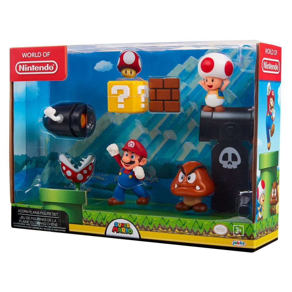 Figura Coleccionable Nintendo Playset Mario Acorn Plains image number 0.0
