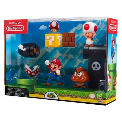 Figura Coleccionable Nintendo Playset Mario Acorn Plains