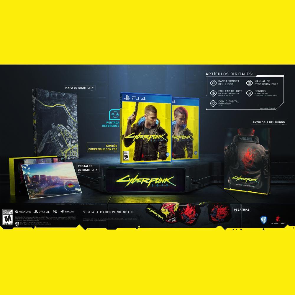 Videojuego Ps4 Cyberpunk 2077 image number 4.0