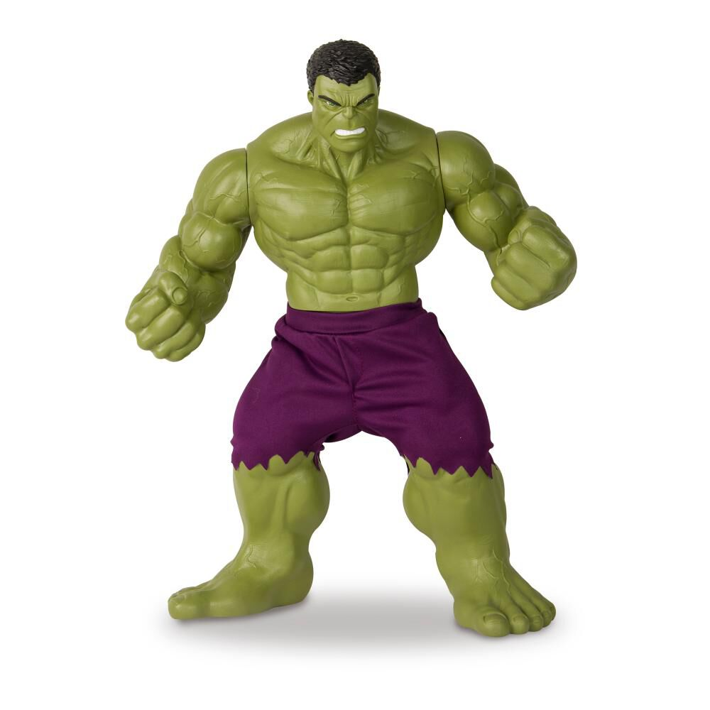 Figura De Acción Avenger Hulk Green Revolution image number 1.0