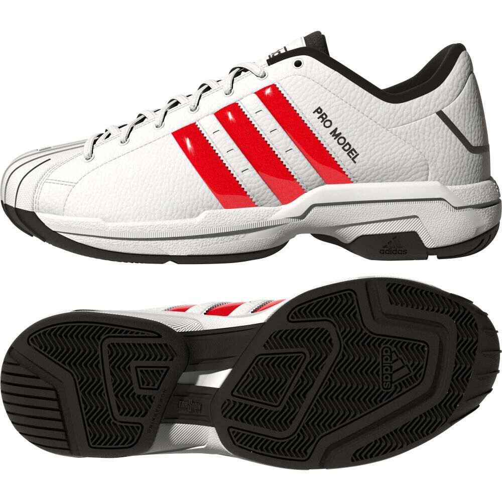 Zapatilla Basketball Hombre Adidas Pro Model 2g Low image number 4.0