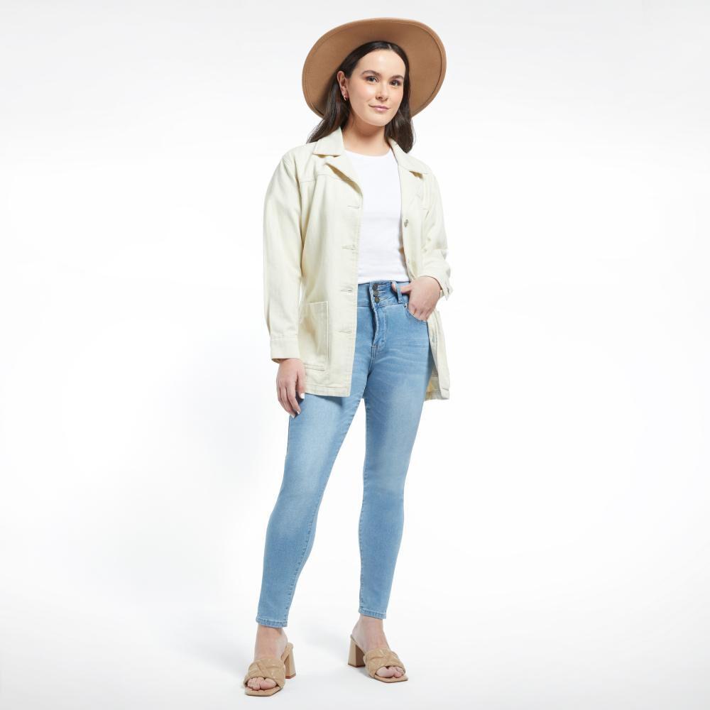 Jeans Mujer Tiro Alto Skinny Kimera image number 0.0