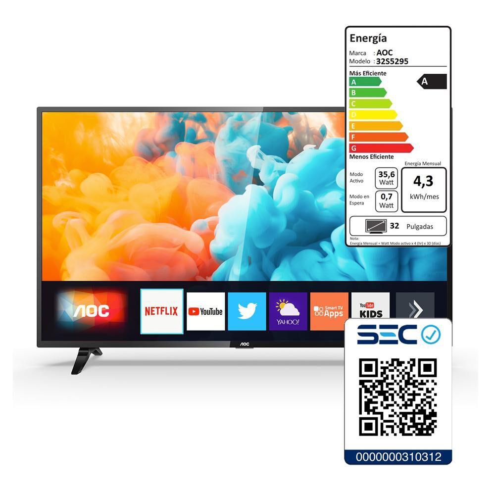 "Led AOC 32S5295 / 32"" / HD / Smart TV image number 4.0"