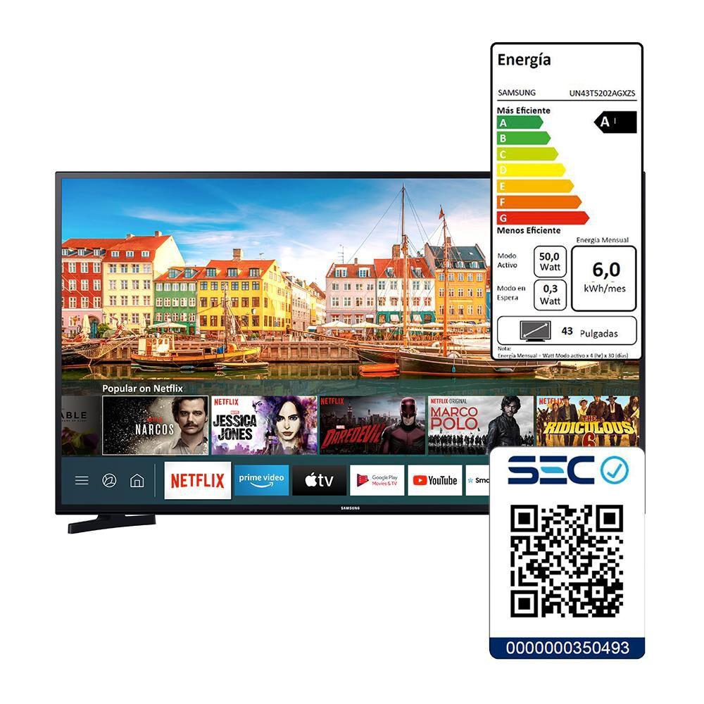 Led Samsung UN43T5202 / 43'' /  Full HD / Smart Tv image number 5.0
