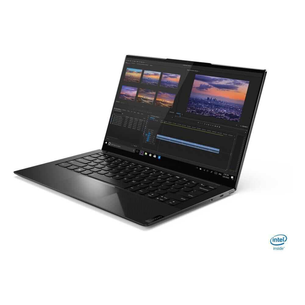 "Notebook Lenovo Yoga Slim 9 14itl5 / Shadow Black / Intel Core I7 / 16 Gb Ram / 1 Tb  Ssd/ 14"" image number 1.0"