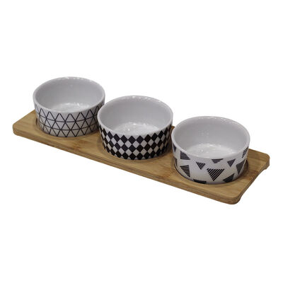 Set De Bowl Deco Express Picoteo / 3 Piezas