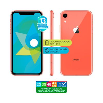 Smartphone Apple Iphone Xr REACONDICIONADO / 64 Gb / Liberado