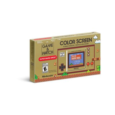 Mini Consola Game + Watch Super Mario Bros