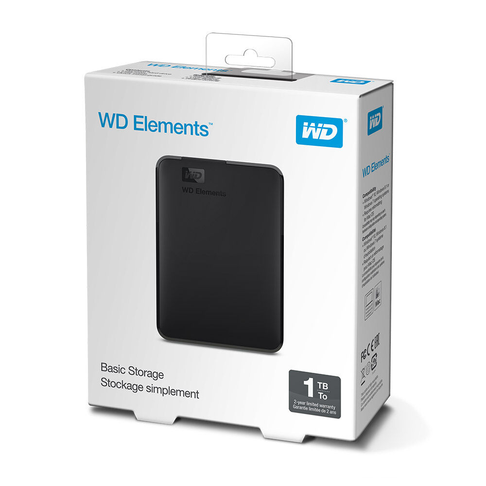 Disco Duro Externo Wd Elements / 1 TB image number 2.0