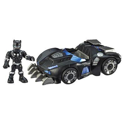 Figura De Accion Super Hero Aventures Sha Black Panther Road Racer
