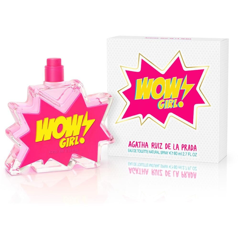 Perfume Agatha Ruiz Wow Girl/ 80 Ml / Edt image number 0.0