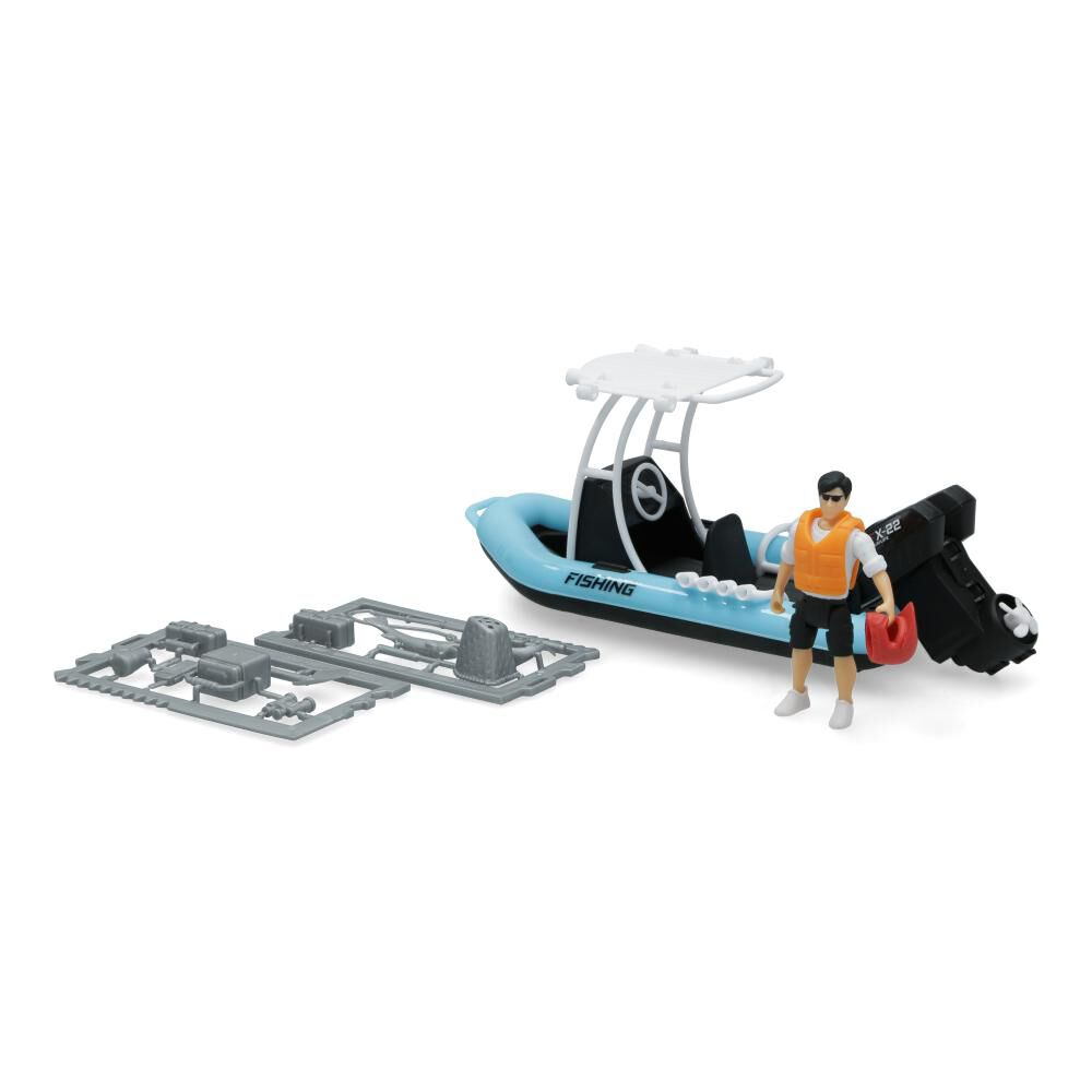 Figura De Accion Dickie Toys Fishing Boat image number 1.0