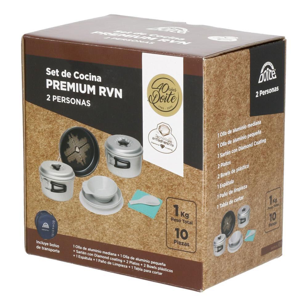 Set De Cocina De Camping Doite Premium Rvn 2p image number 2.0