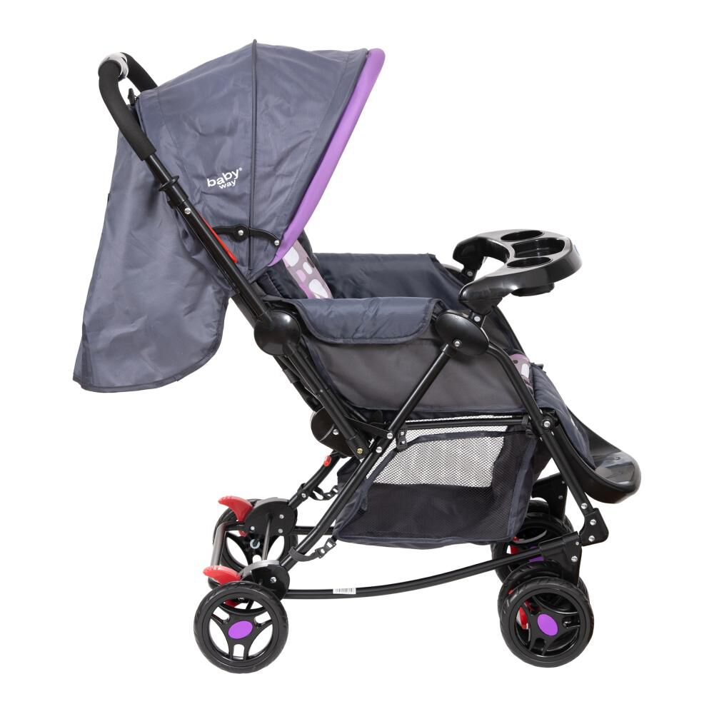 Coche Cuna Baby Way Bw-309M20 image number 1.0