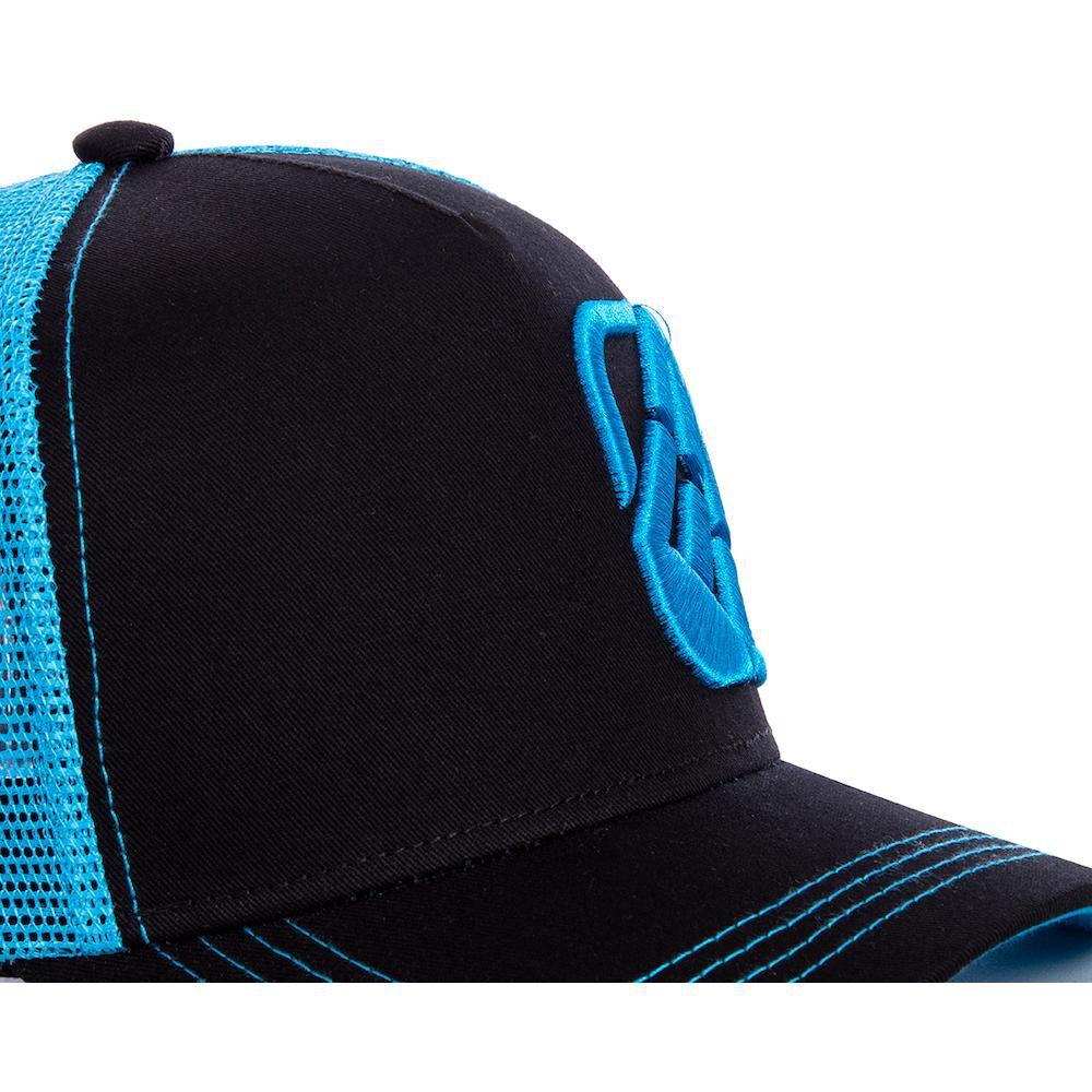 Jockey Trucker Freegun Logo Negro/azul image number 2.0