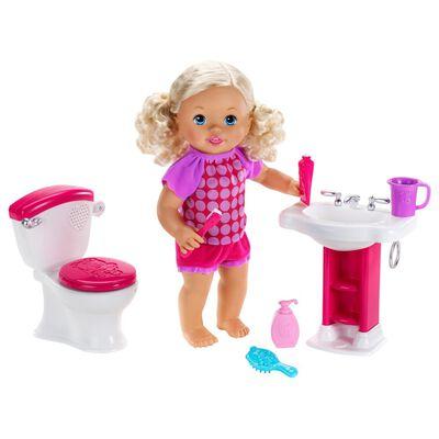 Muñeca Little Mommy Hora De Ir Al Baño