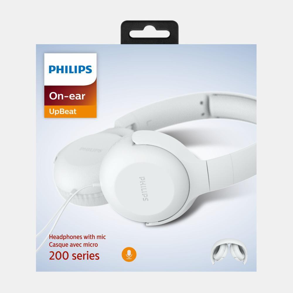 Audífonos Philips Tauh201wt image number 3.0