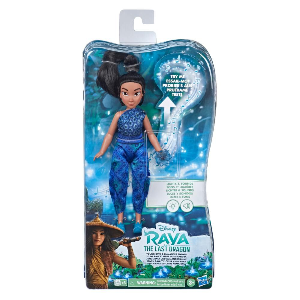 Disney Raya and the Last Dragon Joven Raya y flor de Kumandra image number 0.0