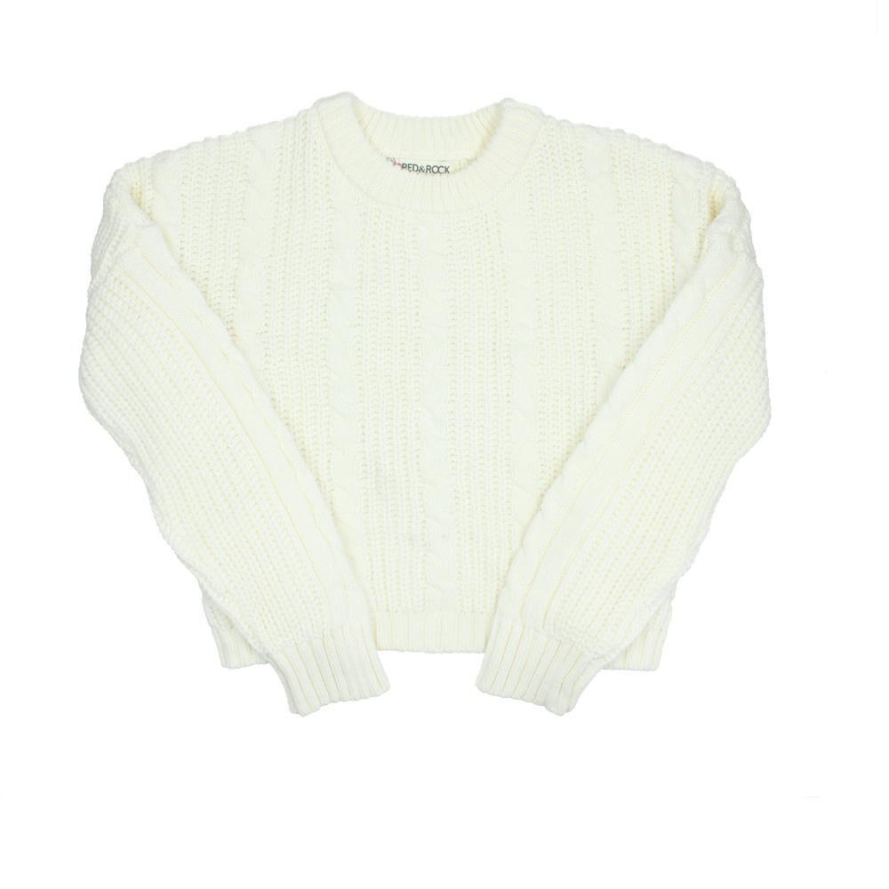 Sweater Niña Teen Red Rock image number 0.0