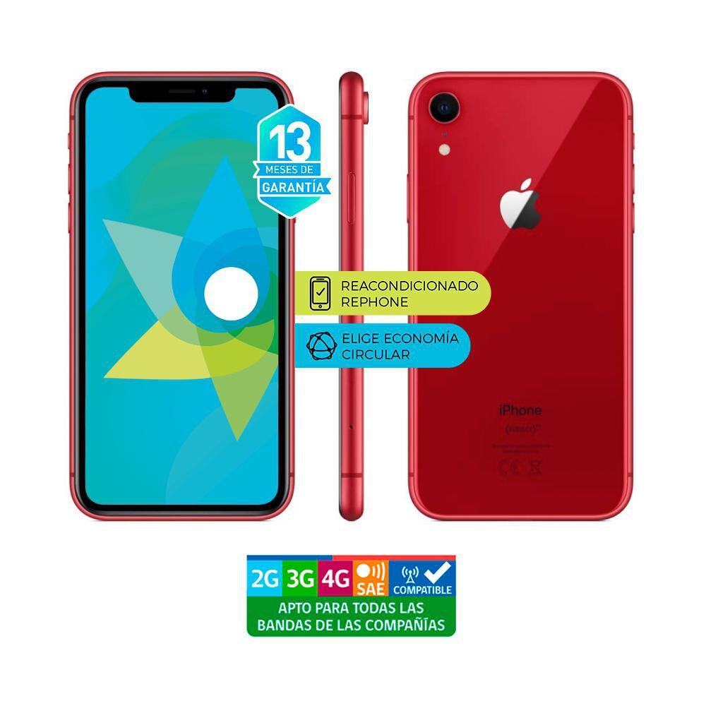 Smartphone Apple Iphone Xr Reacondicionado Rojo / 128 Gb / Liberado image number 3.0