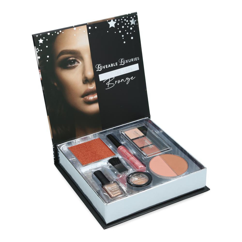 Set De Maquillaje Loveable Luxuries Get The Look Bronze image number 1.0