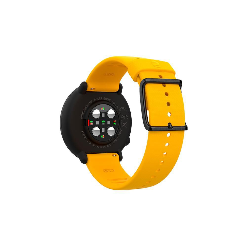 Smartwatch Polar Ignite   Negro / Amarillo image number 2.0