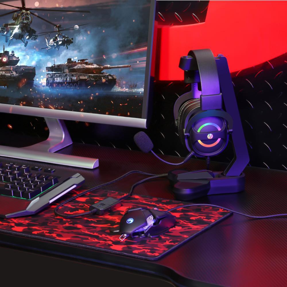 Audífonos Gamer Hp Dh-8006 Usb 7.1 Led image number 5.0