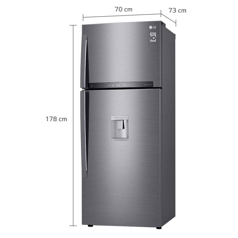 Refrigerador Top Freezer Lg LT44AGP / No Frost / 424 Litros, 401 A 600 Litros image number 10.0