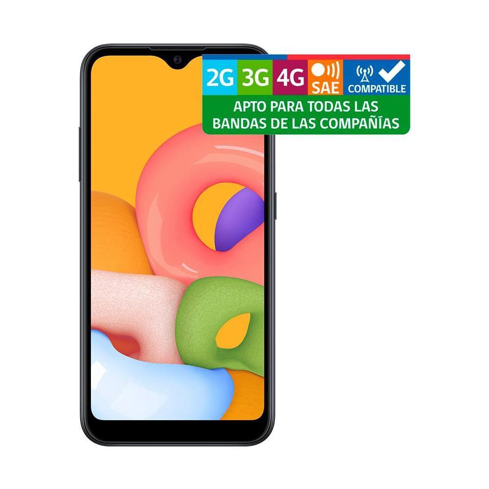 Smartphone Samsung Galaxy A01 Negro / 32gb / Liberado image number 7.0
