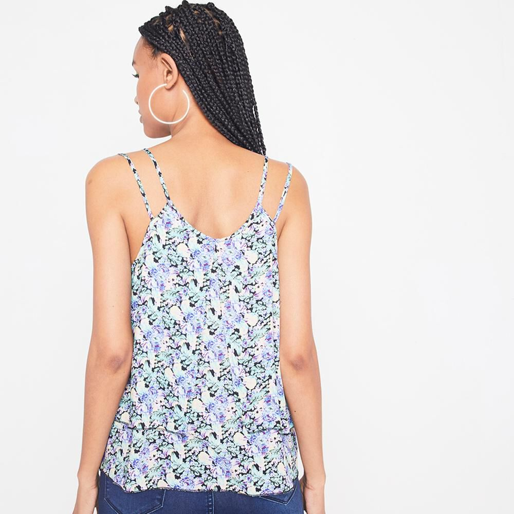 Blusa Sin Mangas Viscosa Mujer Rolly Go image number 2.0