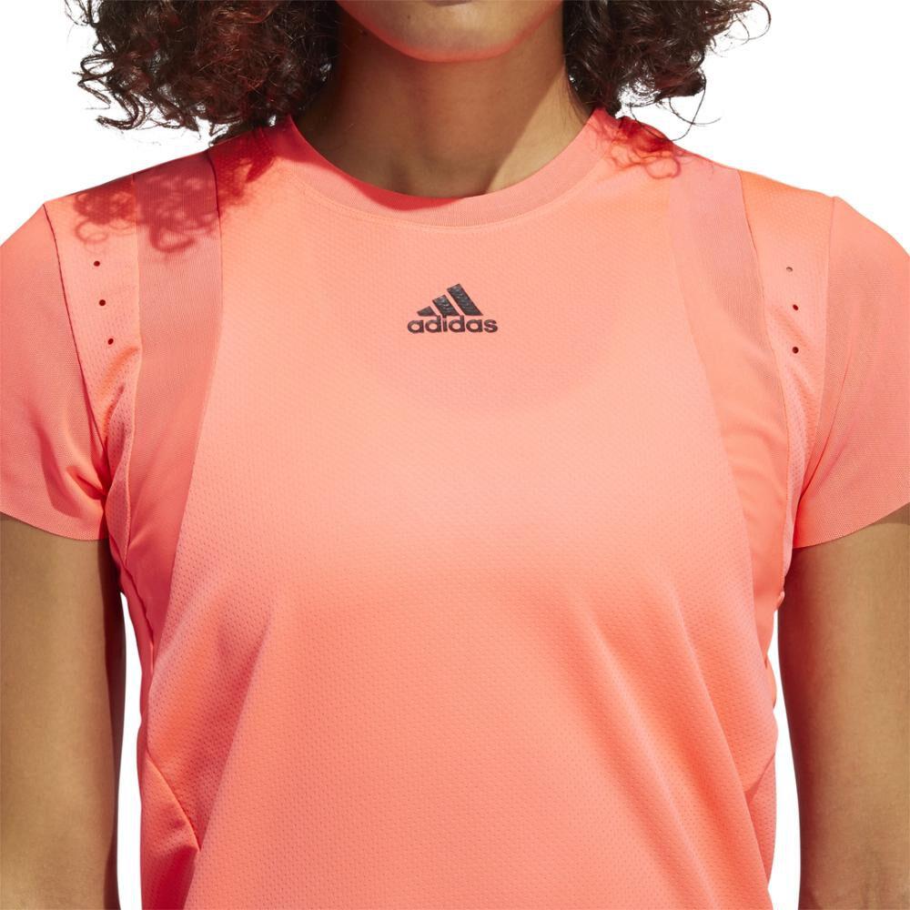 Polera Mujer Adidas De Entrenamiento Heat.rdy image number 4.0