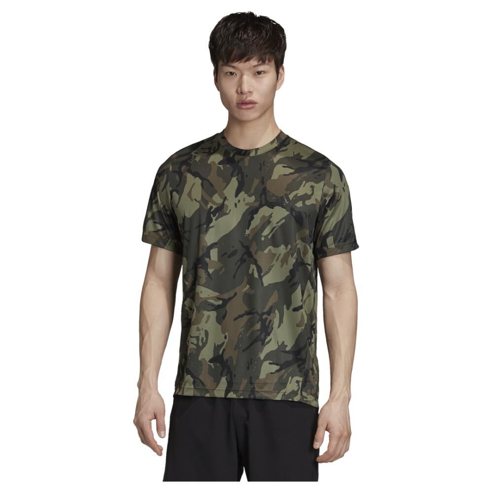 Polera Hombre Adidas Designed To Move image number 0.0