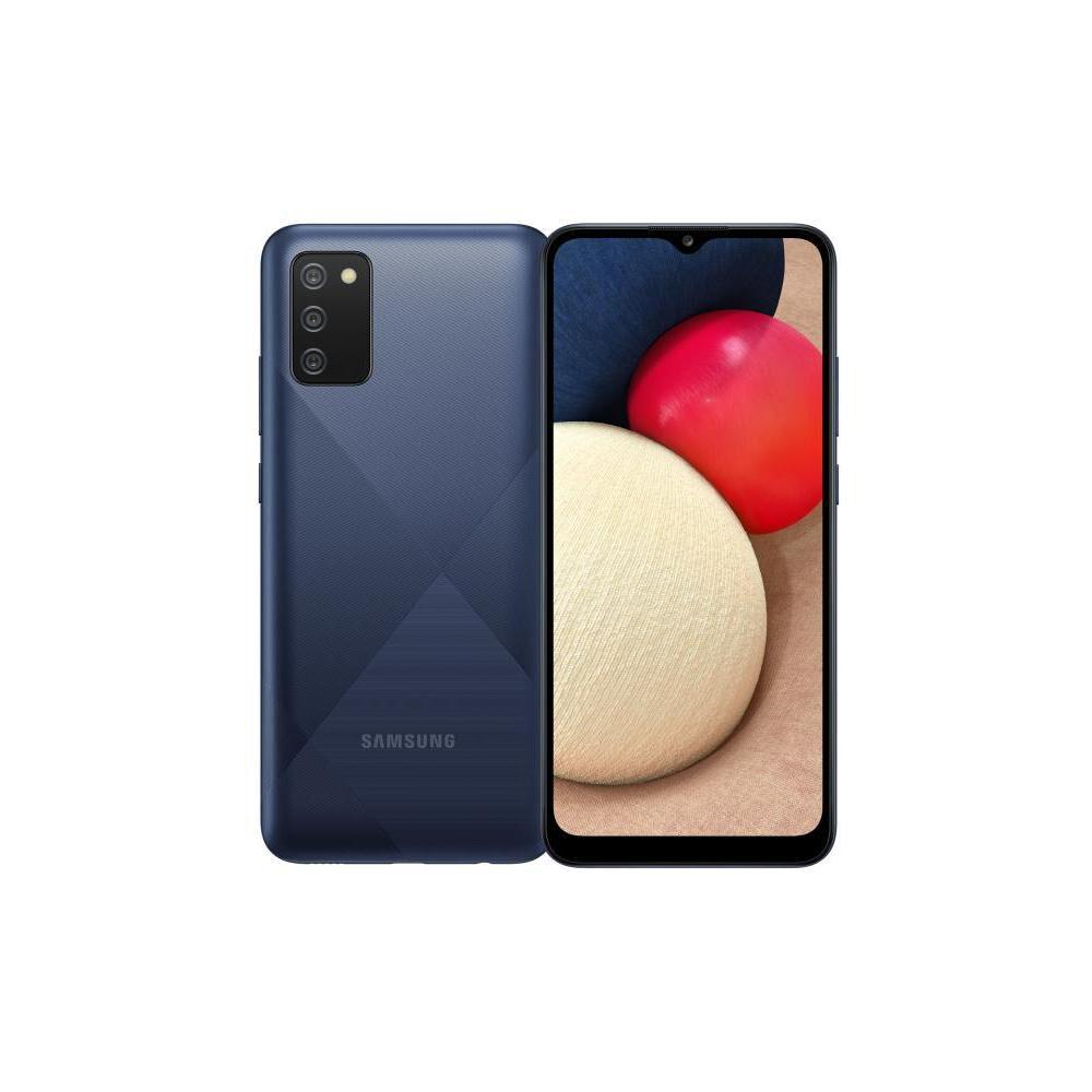 Smartphone Samsung A02S Azul / 32 Gb / Liberado image number 0.0