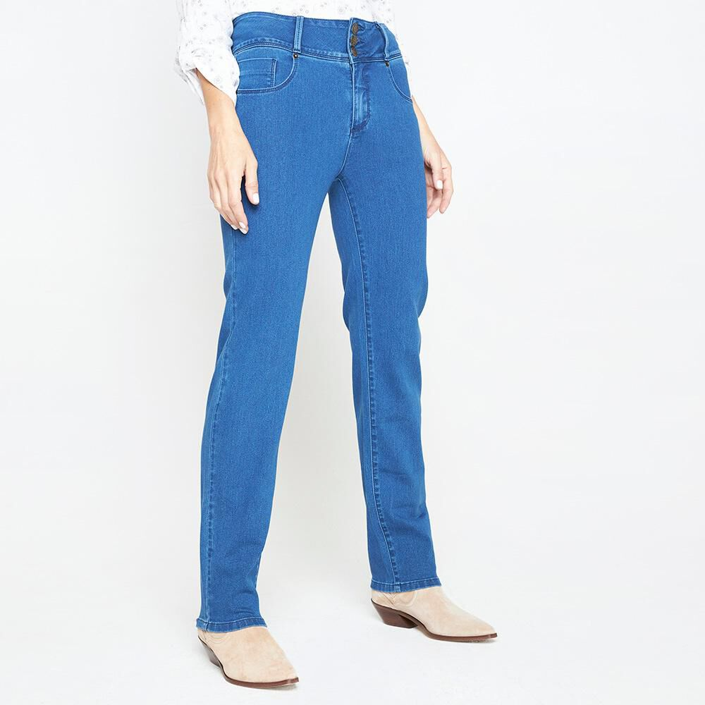 Jeans Mujer Geeps image number 0.0