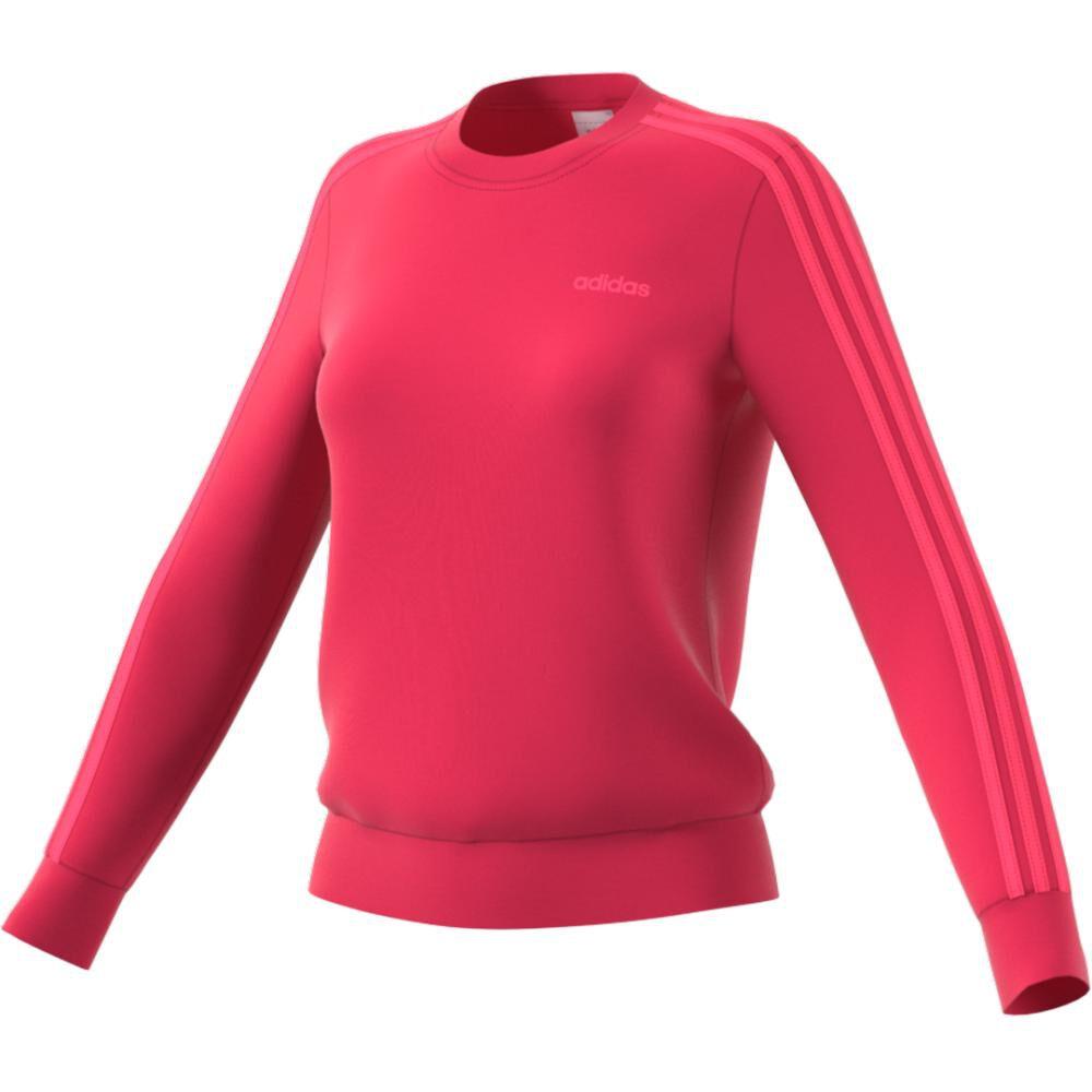 Polerón Deportivo Unisex Adidas Women Essentials 3 Stripe Sweat French Terry image number 9.0