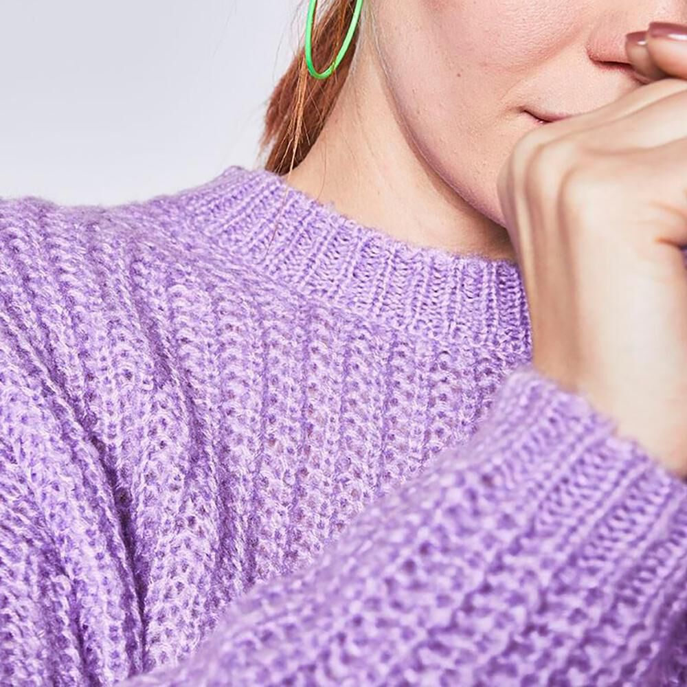Sweater Trenzado Mujer Freedom image number 3.0