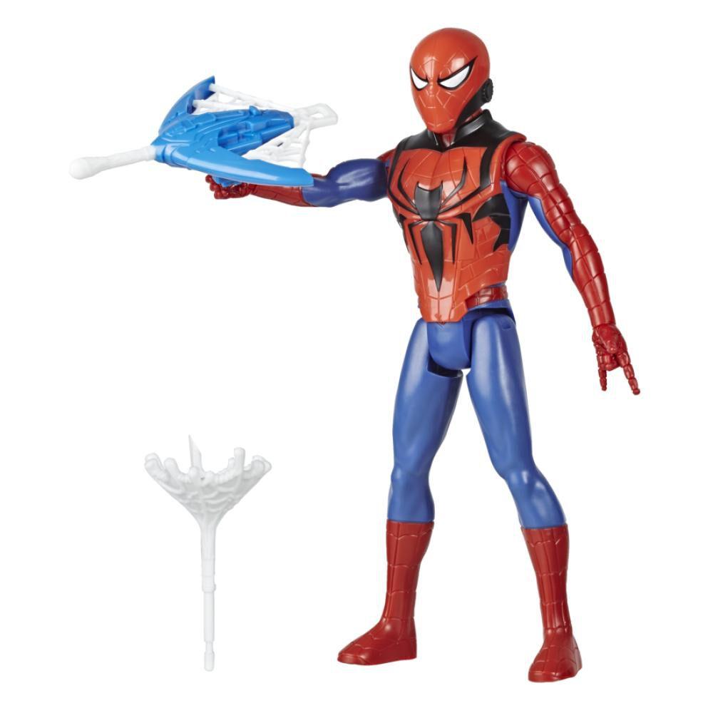 Figura De Accion Spiderman Titan Hero Blast Gear Spiderman image number 0.0