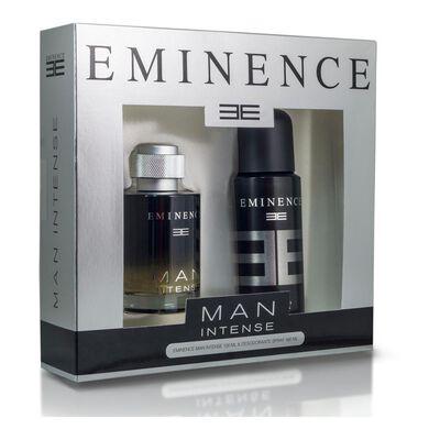 Set De Perfumería Man Intense Eminence / 100 Ml / Eau De Parfum + Desodorante Spray 160ml